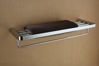 Półka na ręczniki z relingiem  <br/>  EMI-85012