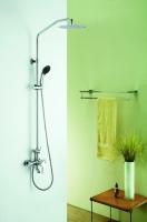 Zestaw wannowo-prysznicowy natynkowy  DEN-ZWPN.500C