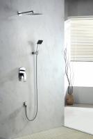 Zestaw prysznicowy podtynkowy z deszczownicą i prysznicem <br/>  LIW-ZKP.150C