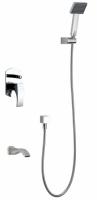 Zestaw wannowy podtynkowy z wylewką i prysznicem <br/>  LIW-ZWP.200C